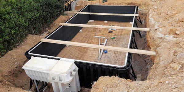 La construction de votre futur piscine en vidéo